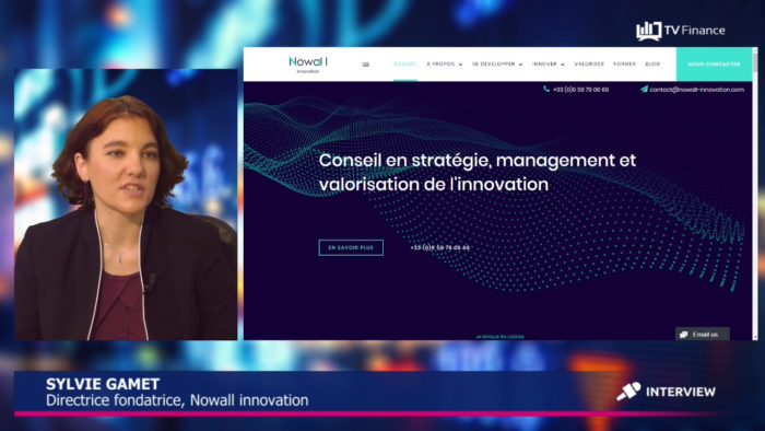 Nowall Innovation sylvie GAMET Finantis Value IP'Nuts ipnuts ip-nuts ip value